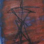 The symbol (oil on board) 60x46cm