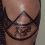 Pictish Tattoo (on arm)